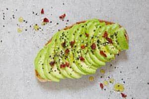Pikantes Avocadobrot