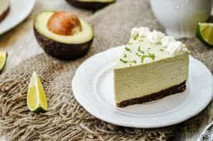 Avocado-Limetten Kuchen