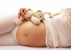 Leben beginnt; ein Baby