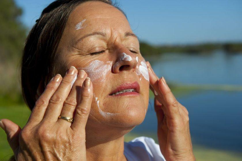 Sonnencreme gegen weißen Hautkrebs