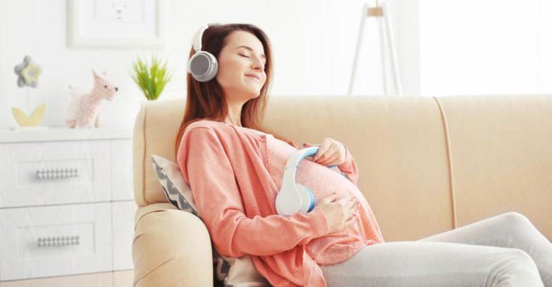 Entspannungsmusik in der Schwangerschaft
